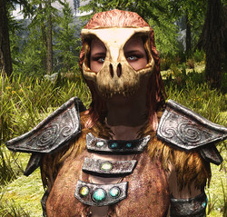 Beast Masks of Skyrim