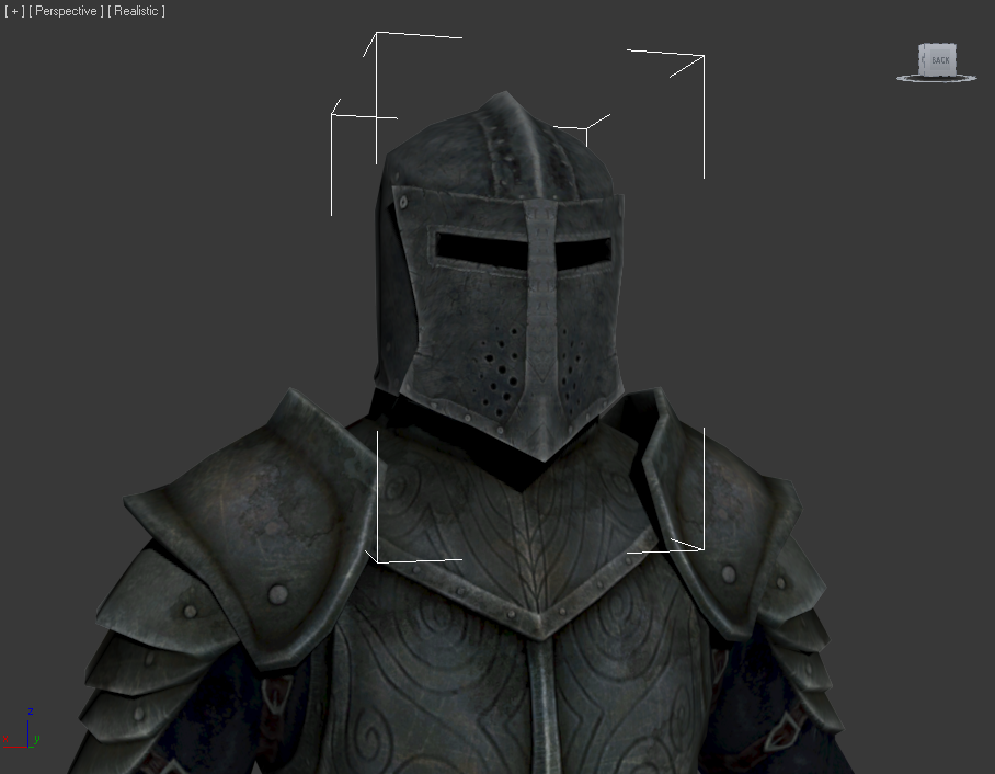 Dawnguard Helmet without insignia