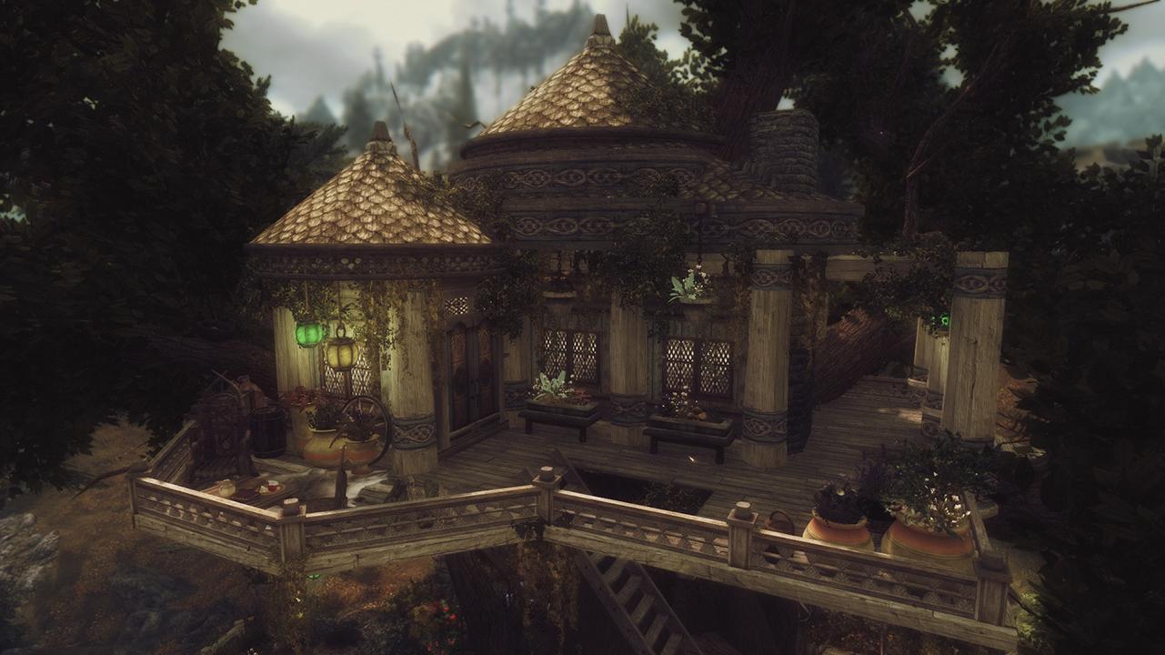 Elisdriel - Bosmer treehouse