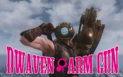 Dwarven Gun Arm