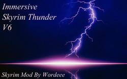 Immersive Skyrim Thunder V6