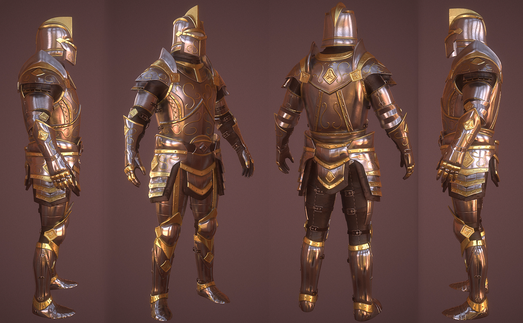 Paladin Armor Set and Artifacts