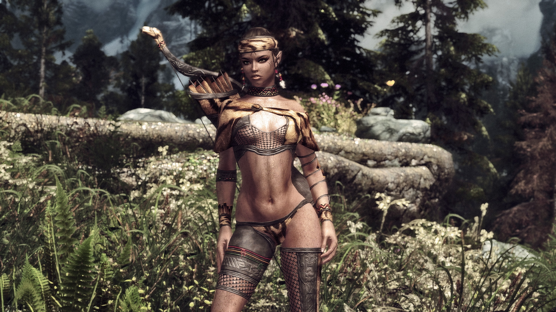 Sotteta Huntress Armor UNP