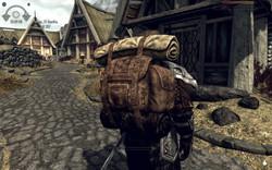 Big Leather Backpack