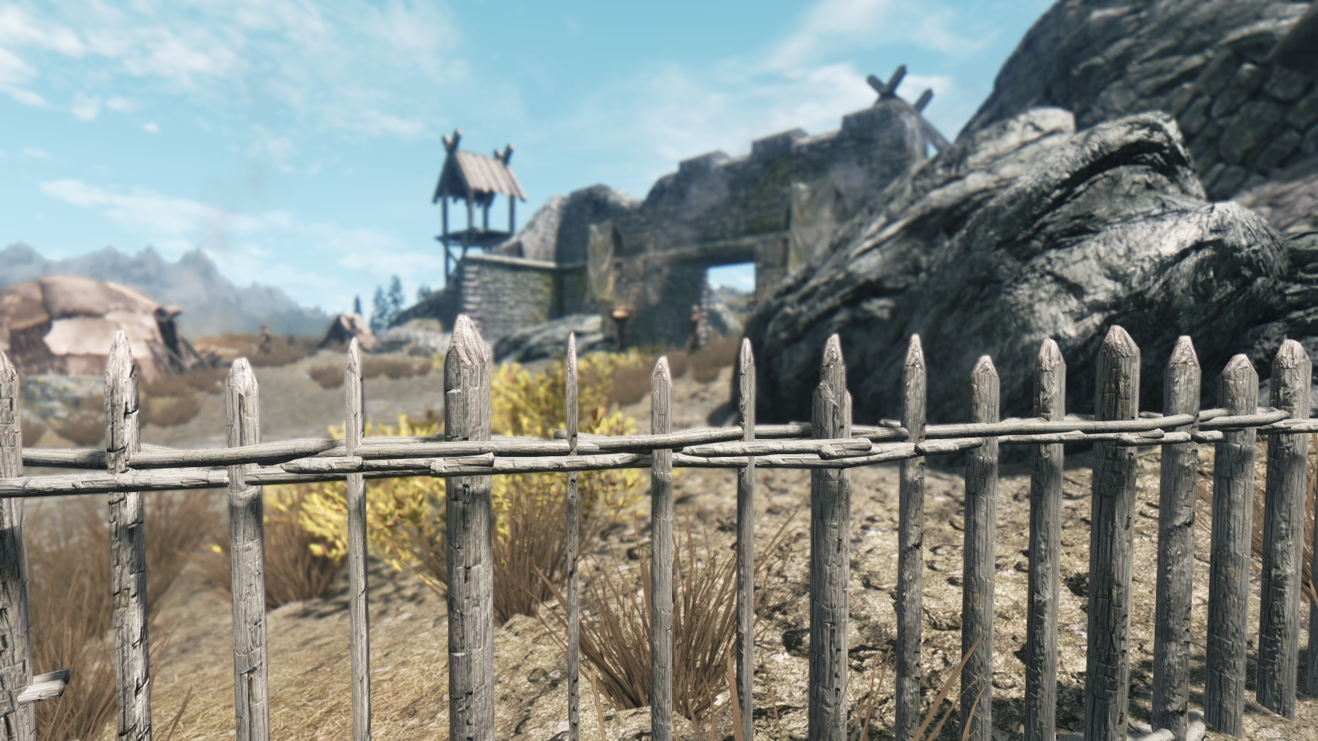 Fences of Skyrim