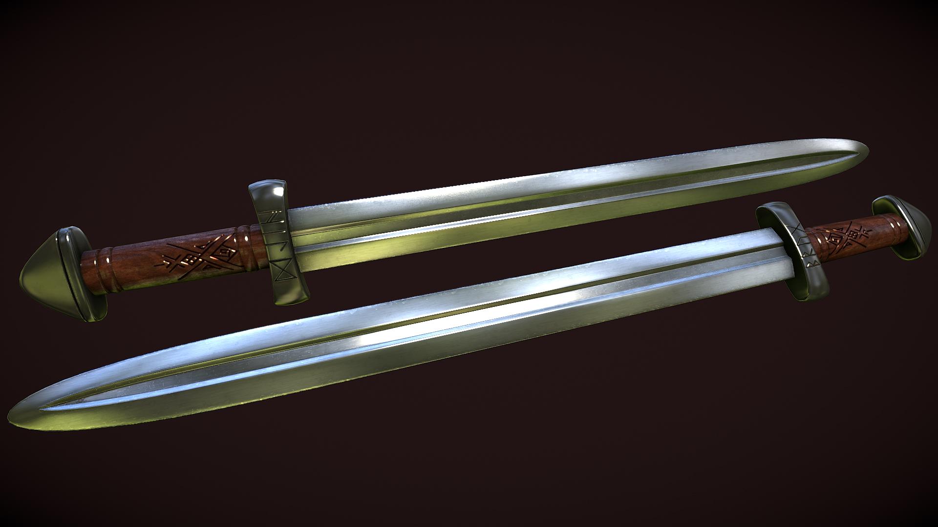 Brug Hild - Nordic Short Sword