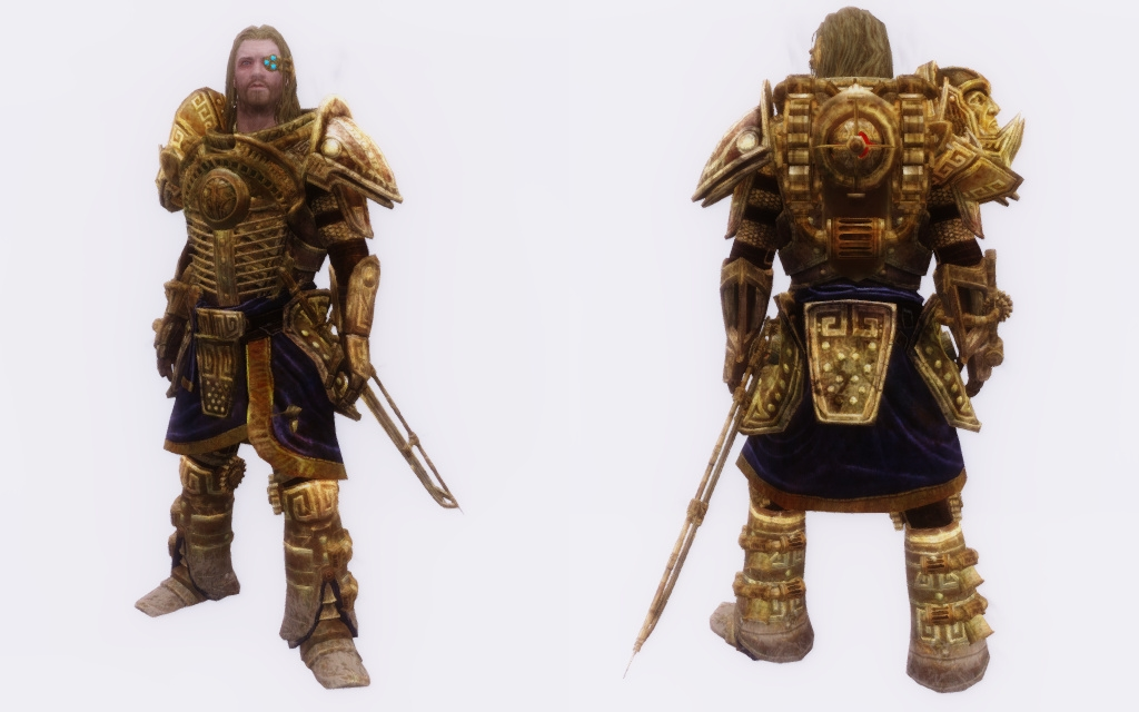 Dwarven Sorcery Armor