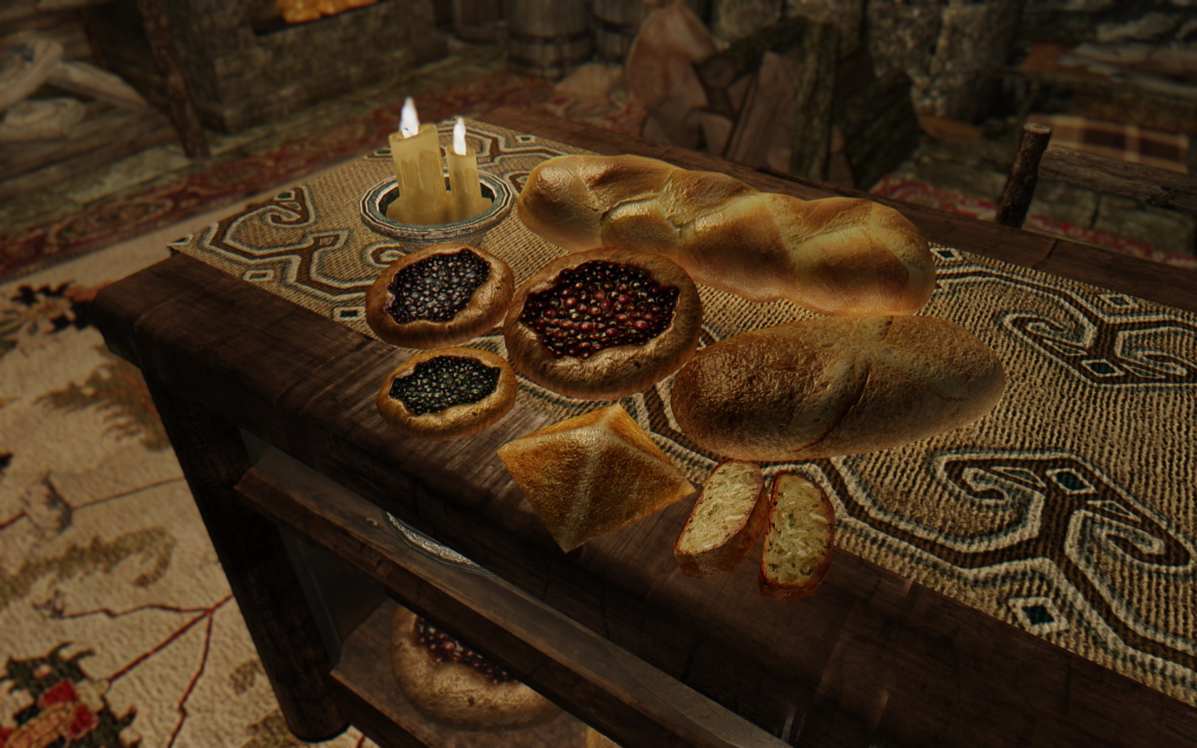 Retexture for Bread - Hearthfire