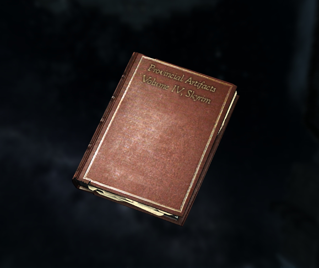 Artifacts of Skyrim