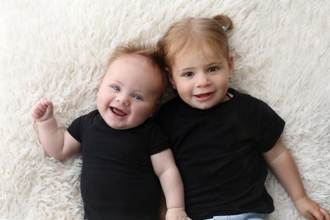 Baby-Gezinssessie aan huis Veldhoven
