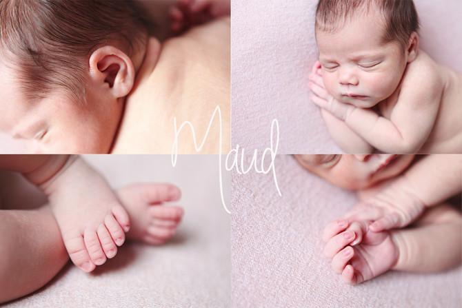 Newborn Maud, op bezoek bij een oud klasgenootje