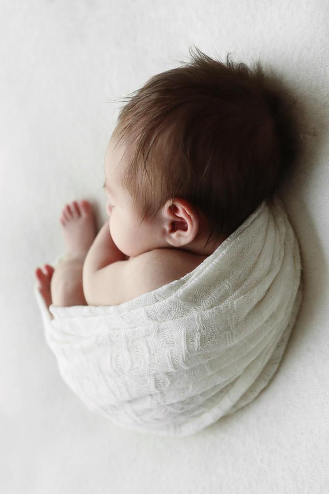 Pure newborn sessie Veldhoven