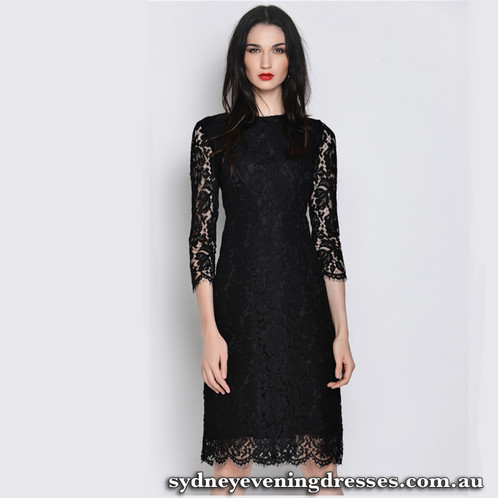 Long sleeve cocktail dresses sydney