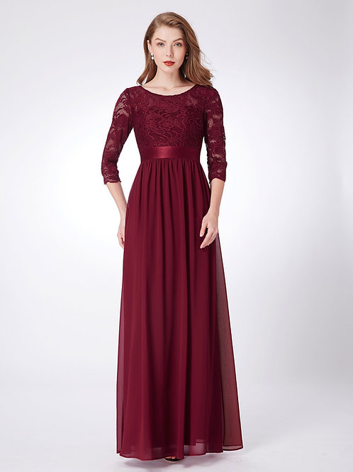 Angel Love Long Sleeve Lace Maxi Dress