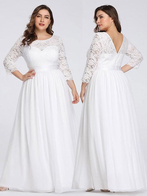 Angel Love Long Sleeve Lace Maxi Dress