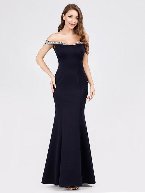 Jenny Off Shoulder Long Mermaid Dress
