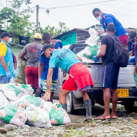 Familias en Chocó reciben ayudas, a través del proyecto ARLEQUÍN REDD+