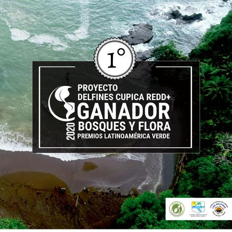 DELFINES CUPICA REDD+, ganador en la categoría Bosques y Flora por Premios Latinoamérica Verde