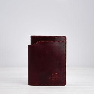 Geldbörse, Ledermanufaktur, Rot