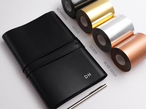Personalisierte Notizbücher