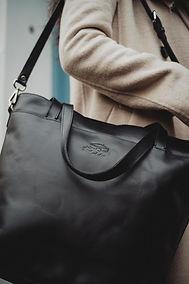 Handtasche aus Leder, für Damen