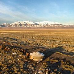 Jurtenleder, Mongolei, Nomadentum