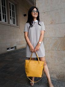 Damen Handtasche Ökoleder