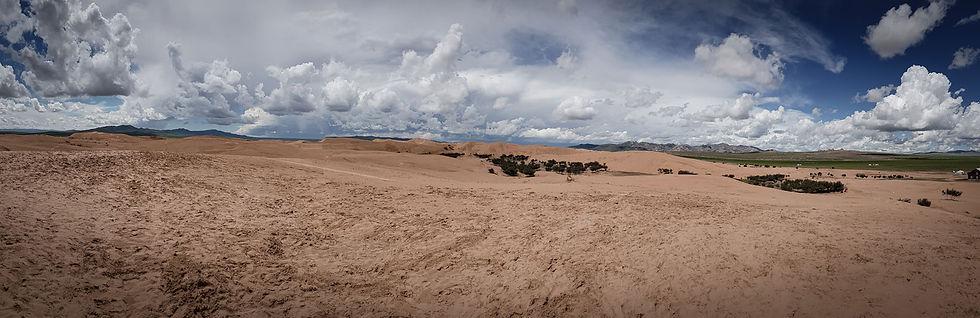 Sanddünen Mongolei, Wüste