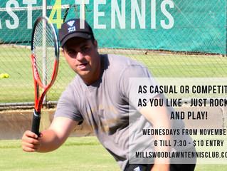 NEW Twilight Tennis - Fast 4 Style
