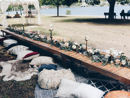 Wedding Celebrations In The Park