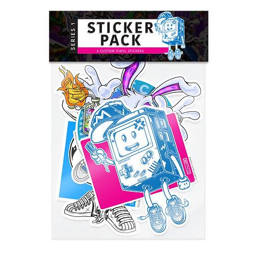 SKTCH STICKER PACK -  SERIES 1