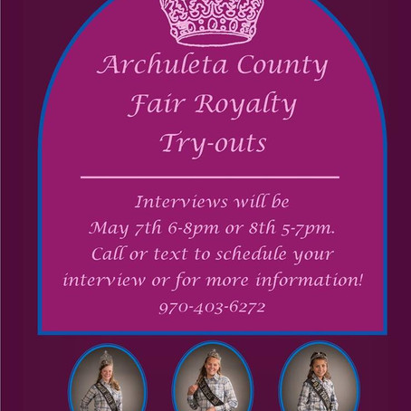 Sign up now: 2018 Royalty Interviews
