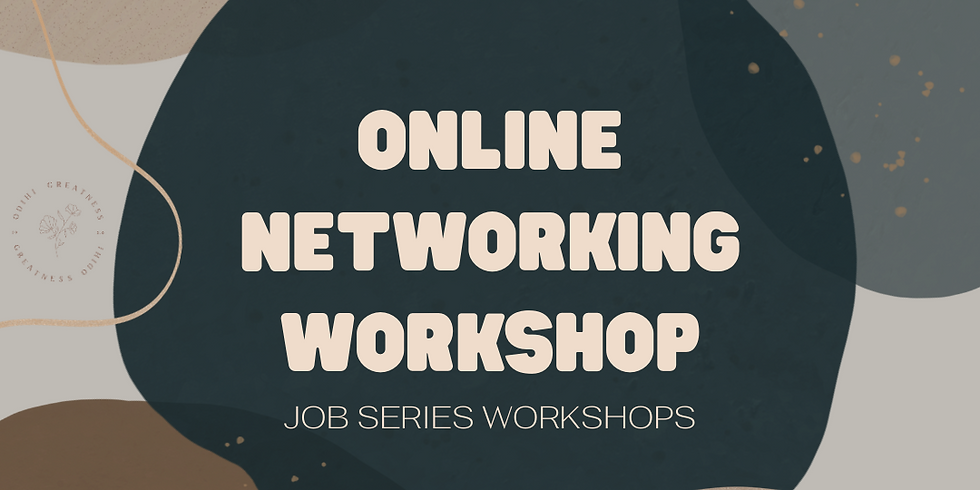 Online Networking Workshop