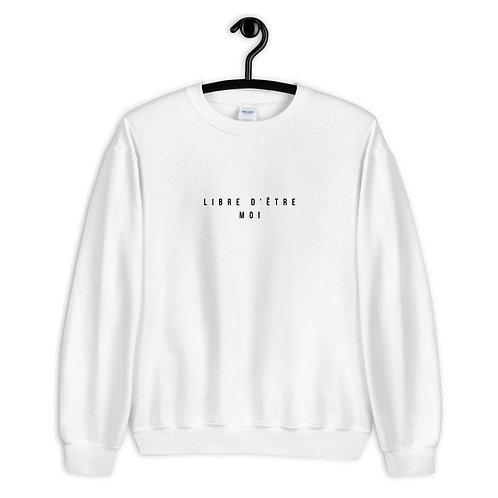 LIBRE D'ÊTRE MOI 'FRENCH EDITION' - Adult Unisex Sweatshirt