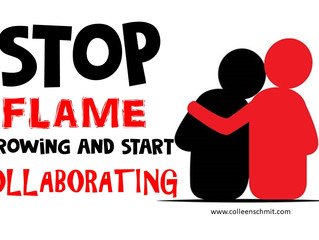 Stop Flame Throwing and Start Collaborating: Encouraging All Educators to Empathize