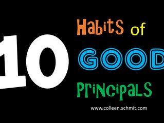 10 Habits of Good Principals