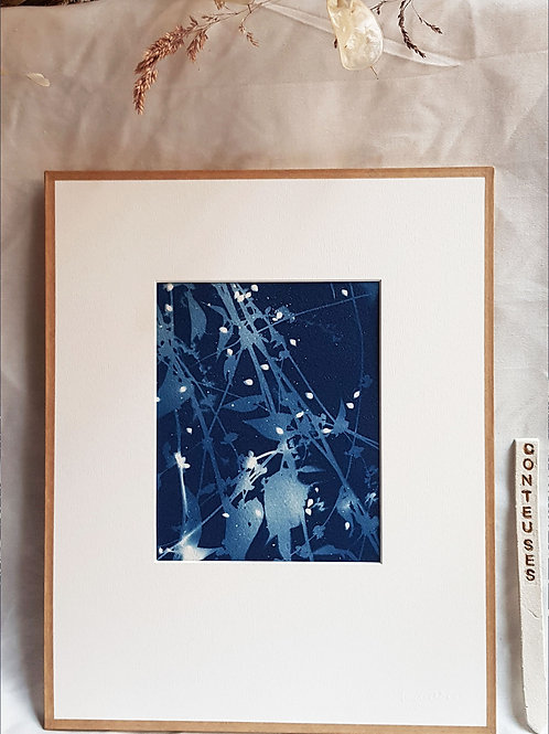 Conteuse - Constellation  24x30cm