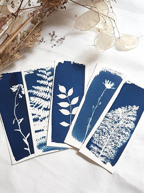 5 Marque-pages - Bouquet 1