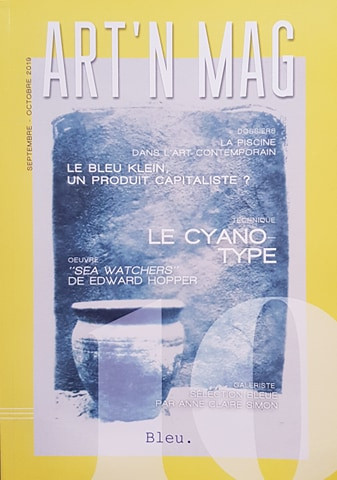 Art N Mag - Carasco cyanotype