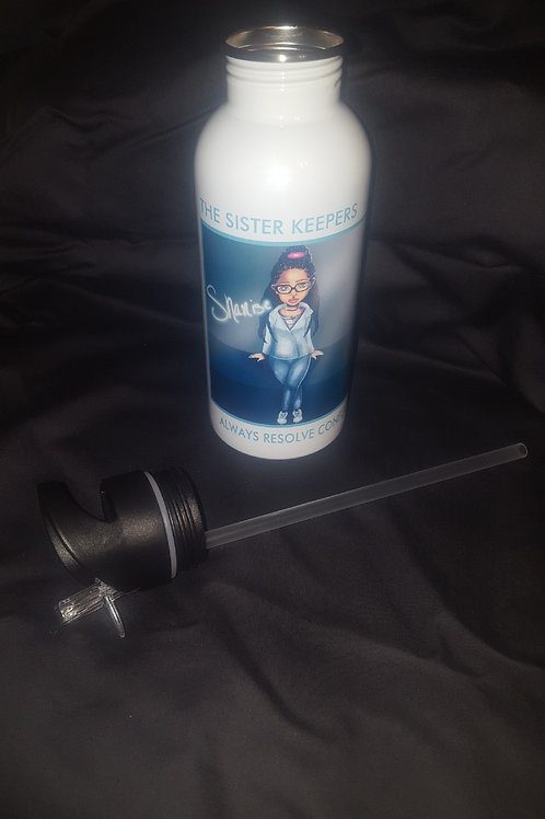 The Sister Keepers water bottle