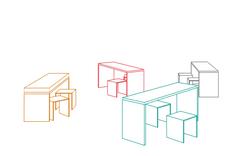 Royal AcademyExhitbition Furniture Draw