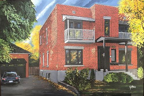 La maison de Monsieur Lapointe