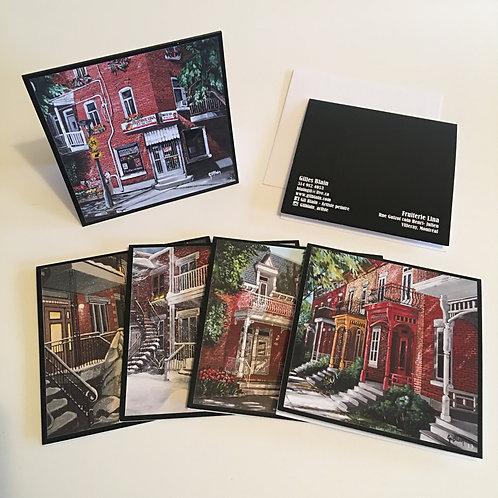 5 cartes de souhaits : paquet #5