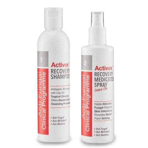 Activex Recovery Shampoo Set (250ml e each)