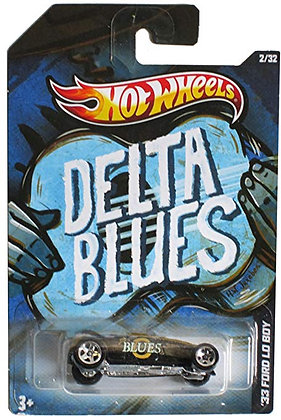 K..16) Hot Wheels Jukebox 2/32 Delta Blues