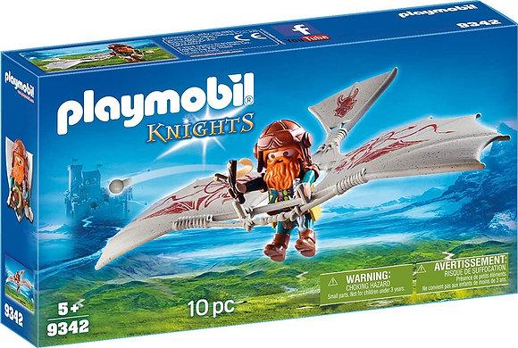 K..130) Playmobil Zwergenflugmaschine