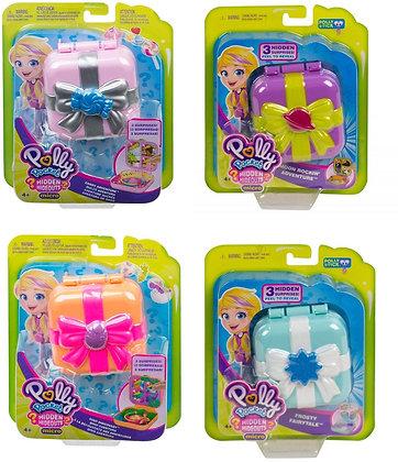 Mattel Polly Pocket Schatulle, verborgene Schätze sortiert