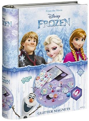 Disney Frozen Glitter Magnete in Dose 15x19,5 cm