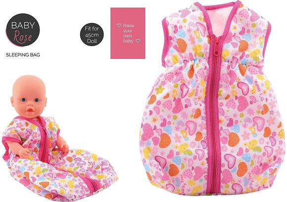 K..134) Schlafsack für Puppe bis 45 cm