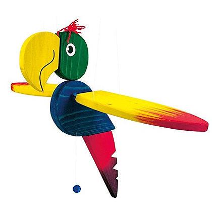 K..10) grosser Papagei